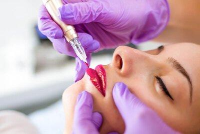Permanent Full Color Lips Training at Arkansas Permanent Cosmetics Institute