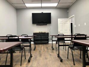 Permanent Cosmetics School Classroom at Arkansas Permanent Cosmetics Institute